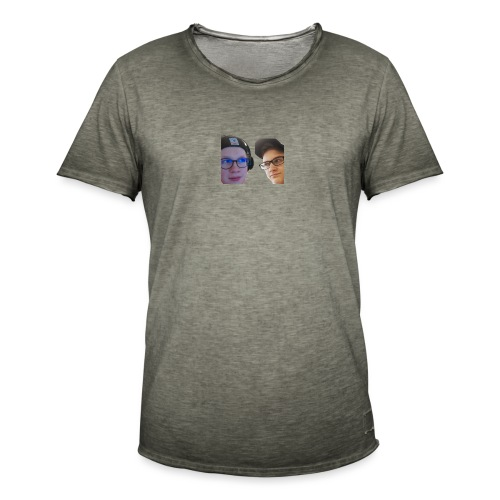 Ramppa & Jamppa - Miesten vintage t-paita