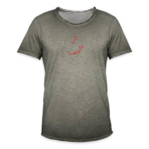 'Stay a little longer' (pocket) - Men's Vintage T-Shirt