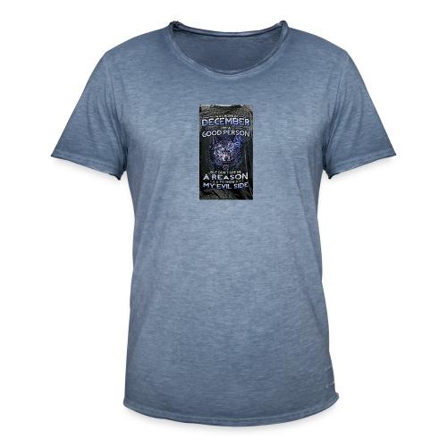 december - Men's Vintage T-Shirt