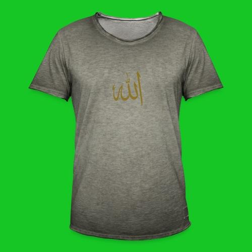 Allah - Mannen Vintage T-shirt