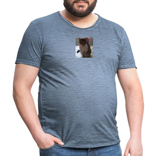 Anmerkung 2020 02 28 141454 - Männer Vintage T-Shirt