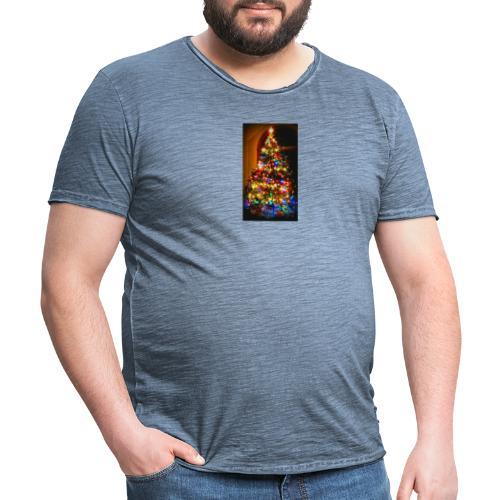 Feliz navidad - Camiseta vintage hombre