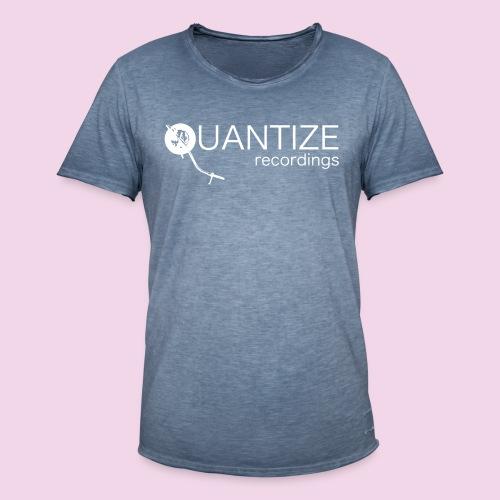 Quantize White Logo - Men's Vintage T-Shirt