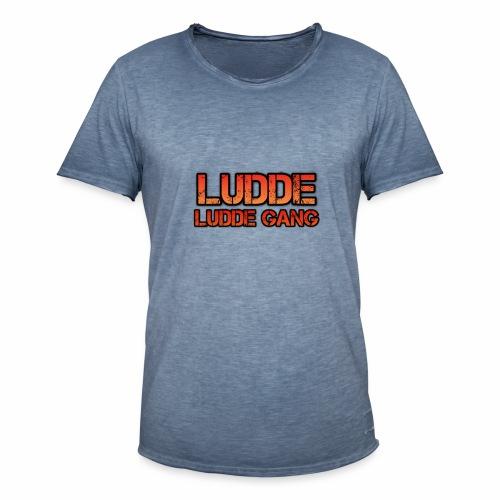 LUDDE GANG - Vintage-T-shirt herr