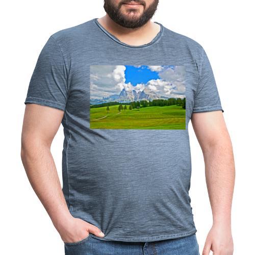 Seiser Alm - Männer Vintage T-Shirt