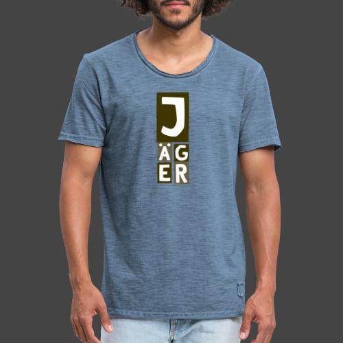 Der Jägerturm - original Jägershirt - Männer Vintage T-Shirt