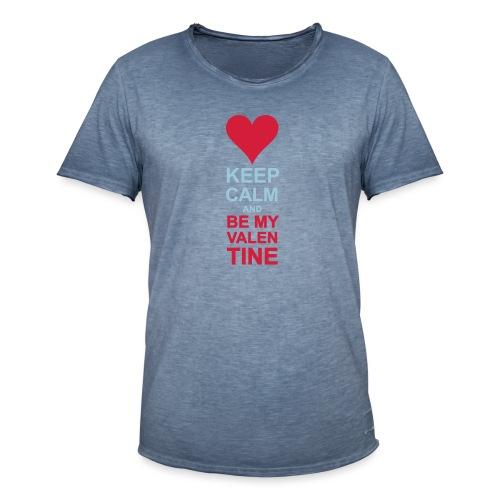 Be my quiet Valentine - Men's Vintage T-Shirt