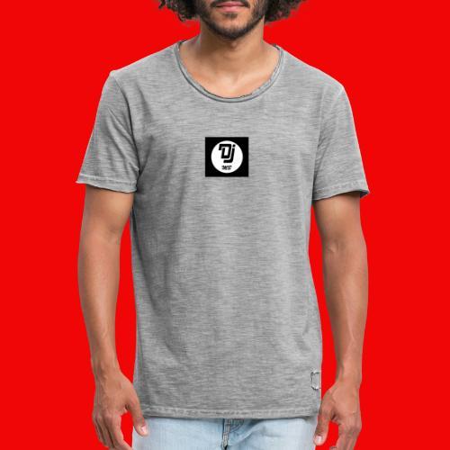 logo dj mb - T-shirt vintage Homme