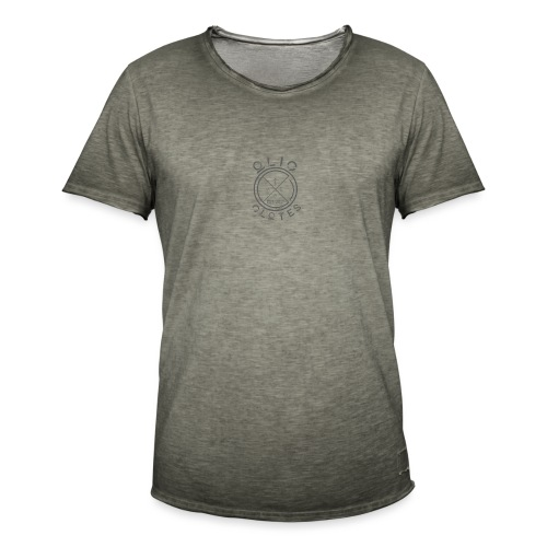 Compass by OliC Clothess (Dark) - Herre vintage T-shirt