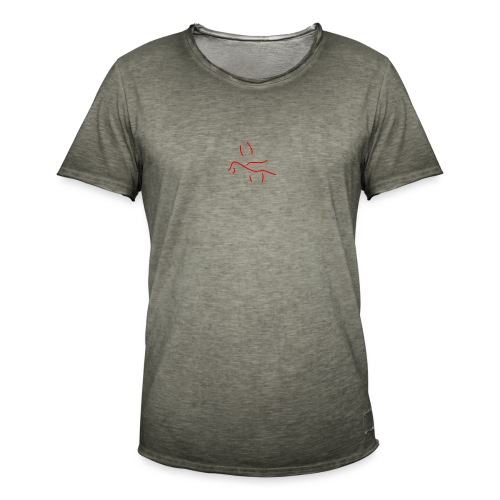 'Drowning in you' (pocket) - Men's Vintage T-Shirt