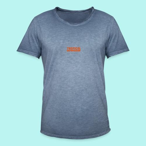 Tropical Depression - Männer Vintage T-Shirt