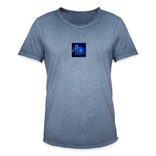 Logo GamenMetLucas - Mannen Vintage T-shirt