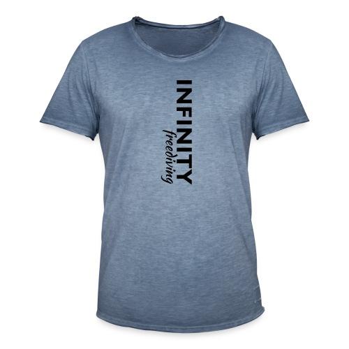 Infinity - Männer Vintage T-Shirt