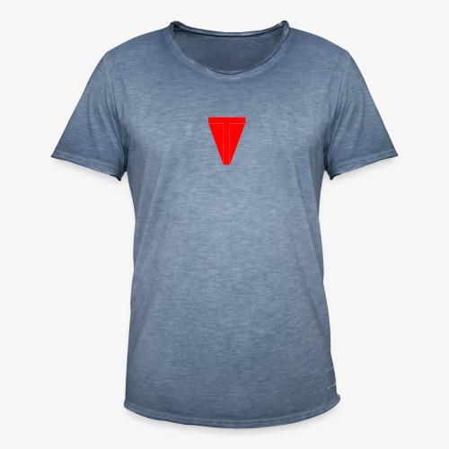 Senza titolo 4 - Maglietta vintage da uomo