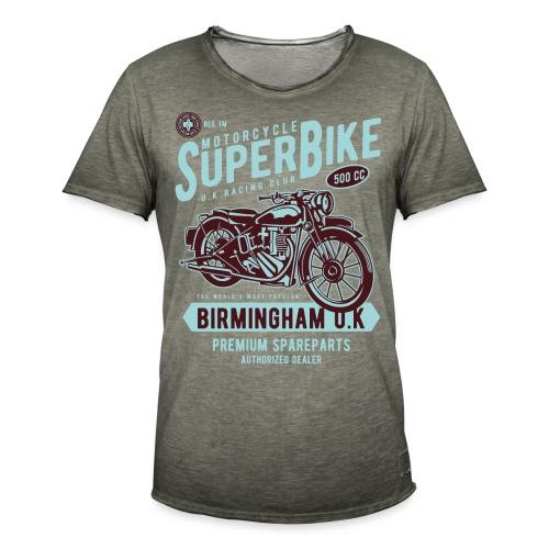 T-Shirt Moto Vintage années 50/60 - T-shirt vintage Homme