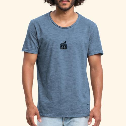 The Walking Dad - Männer Vintage T-Shirt