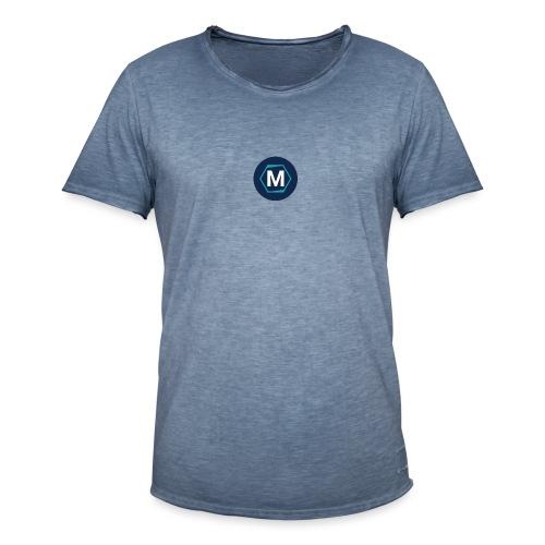 mecoms logo - Mannen Vintage T-shirt