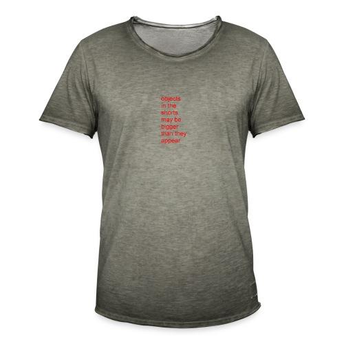 nice Shorts - Männer Vintage T-Shirt