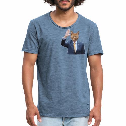 RTE ginger cat - Miesten vintage t-paita