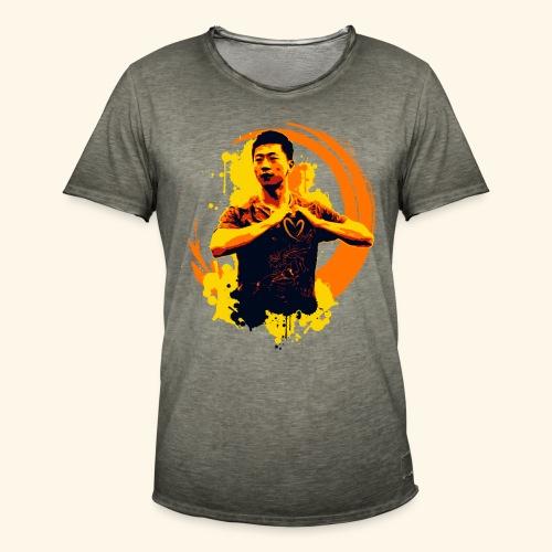 I heart table tennis championship - Männer Vintage T-Shirt