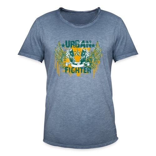 skuls urban fighter - Männer Vintage T-Shirt