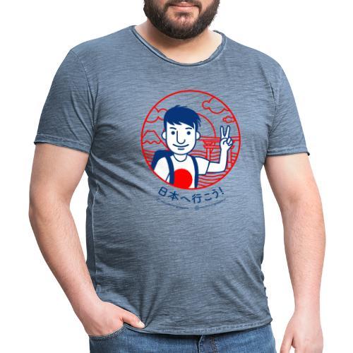 Marchino in Giappone® - originale - Maglietta vintage da uomo
