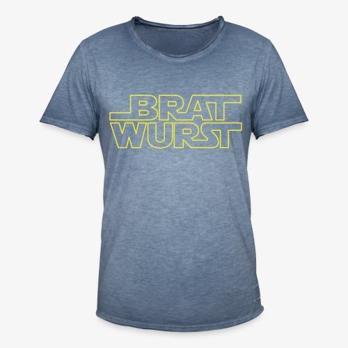 Bratwurst (Jedi) - Männer Vintage T-Shirt
