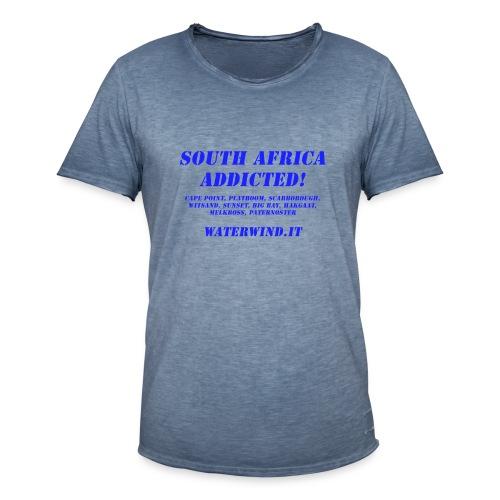 South Africa addicted - Men's Vintage T-Shirt