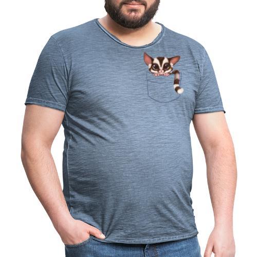Sugar Glider - Männer Vintage T-Shirt