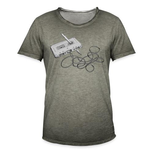 La cassette et son allié - T-shirt vintage Homme