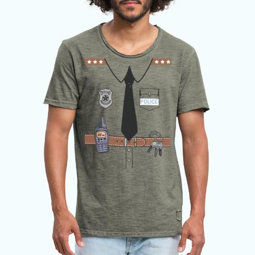 Funny Cute Uniform - Men's Vintage T-Shirt