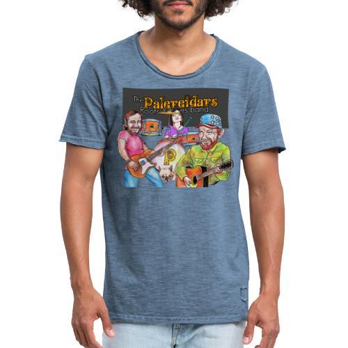 Palereidars - Vintage-T-skjorte for menn
