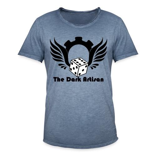 Black logo - Men's Vintage T-Shirt