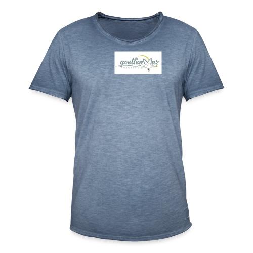 goettenmar logo - Männer Vintage T-Shirt
