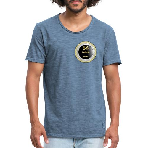 Rechenscheibe-Wählscheibe - Männer Vintage T-Shirt