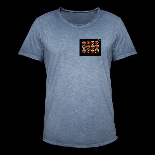 Totenköpfe - Männer Vintage T-Shirt