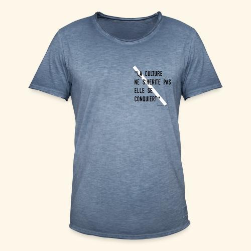 Kulture Française - T-shirt vintage Homme