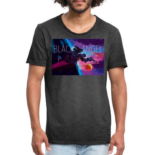 BLACK ANGEL COVER ART - T-shirt vintage Homme