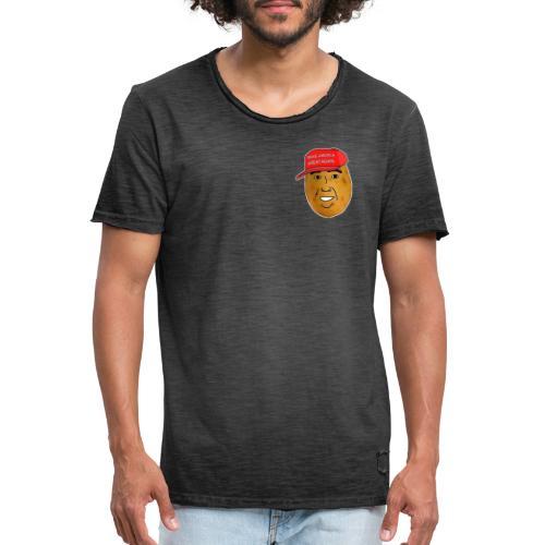 Potato - T-shirt vintage Homme
