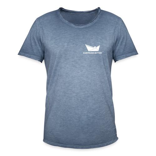 schiff_schrift_1c - Männer Vintage T-Shirt