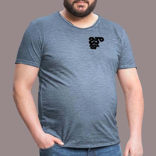 Binarux - Camiseta vintage hombre
