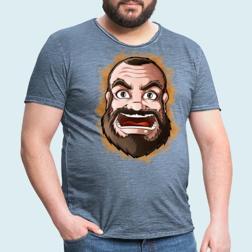 rage face - Maglietta vintage da uomo