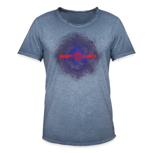 NAKED FRACTAL # 1 - Men's Vintage T-Shirt