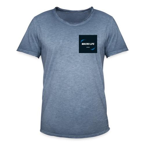 MacroLife Sports - Camiseta vintage hombre