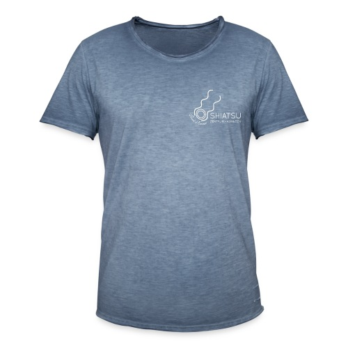 szk Shiatsu weiss - Männer Vintage T-Shirt