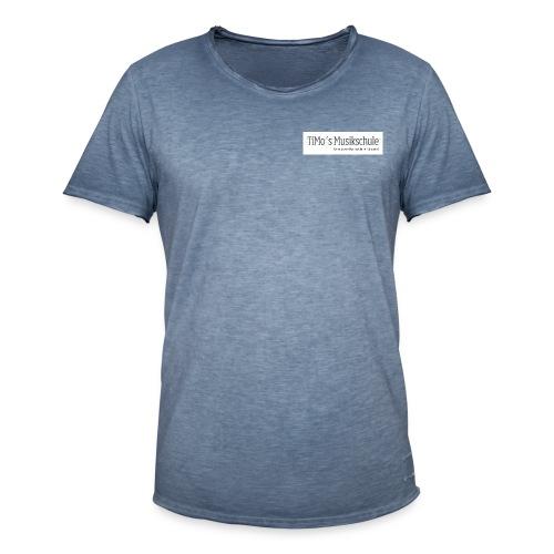 Timos-MusikschulePNG - Männer Vintage T-Shirt