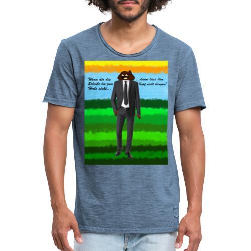 scheiß design - Männer Vintage T-Shirt