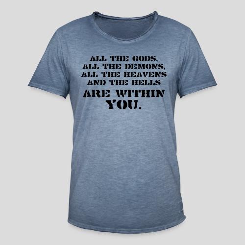 AllGods II - Camiseta vintage hombre