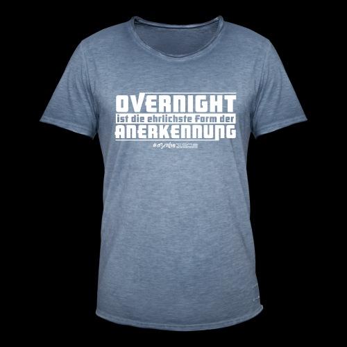 Overnight - Männer Vintage T-Shirt
