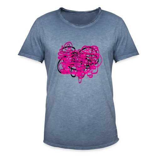 delicious pink - Men's Vintage T-Shirt